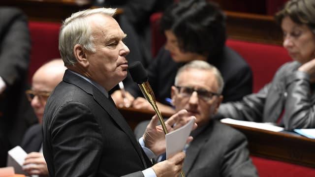 Jean-Marc Ayrault, ce mercredi, à l'Assemblée
