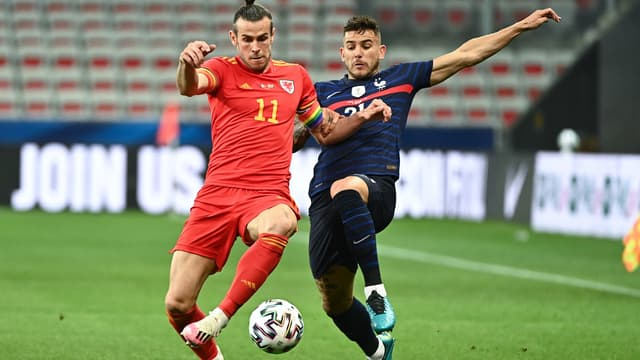Lucas Hernandez face à Gareth Bale