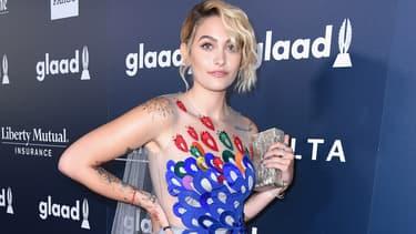 """Paris Jackson pourrait bientôt se glisser dans la peau de Madonna dans le film """"Blonde Ambition""""."""