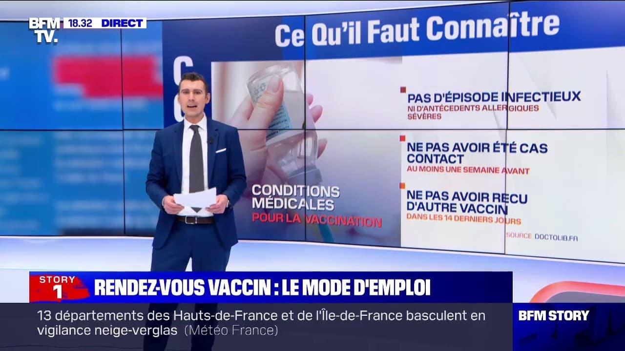 Covid-19: comment prendre rendez-vous pour se faire vacciner?