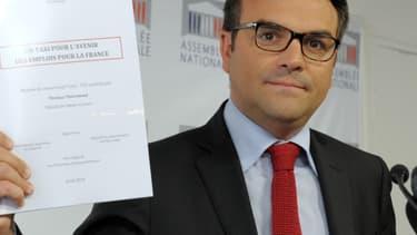 Thomas Thévenoud, ici le 24 avril 2014. Il était alors député.