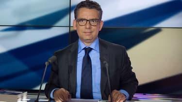 Le journaliste Frédéric Haziza en 2013