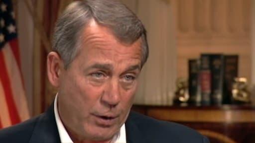 John Boehner a annoncé sur ABC qu'il renonçait à toute tentative d'abroger l'Obamacare.