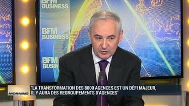 François Pérol était l'invité de BFM Business.
