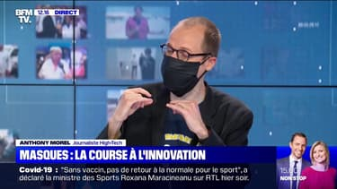 Auto-décontaminants, biodégradables ... de nouveaux masques innovants