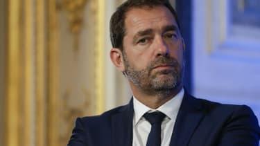 Christophe Castaner, secrétaire d'Etat aux relations avec le Parlement et délégué général de La République en marche, le 12 juillet 2017
