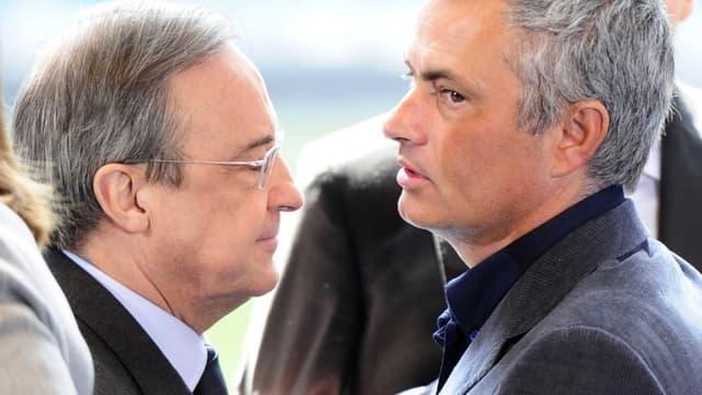 José Mourinho aurait conservé un bon contact avec Florentino Pérez, le président du Real.