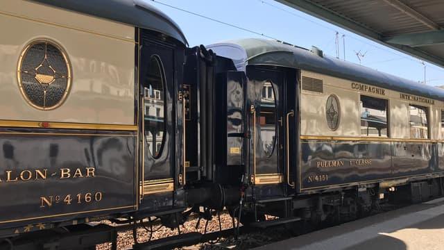 L'Orient Express est exposé pendant deux jours.