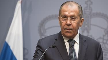 Le chef de la diplomatie russe Sergueï Lavrov.
