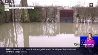Seine-et-Marne: le froid s'ajoute aux inondations