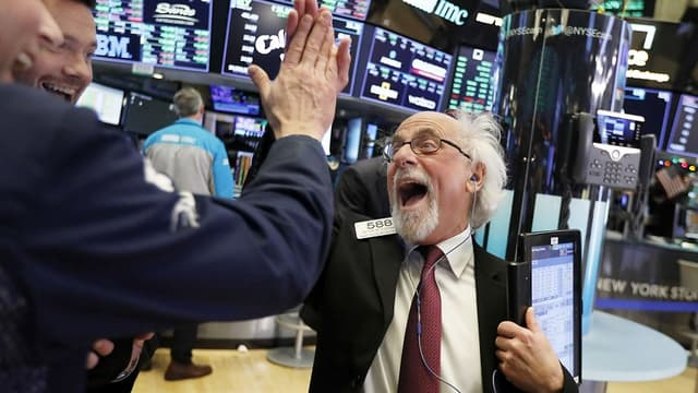 Des traders à Wall Street (illustration)