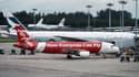 Un avion AirAsia. (photo d'illustration)