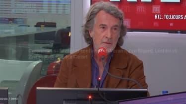 L'acteur François Cluzet sur RTL, le 16 ocotbre 2020.