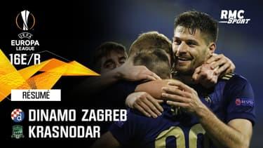 Résumé : Dinamo Zagreb 1-0 Krasnodar - Ligue Europa 16e de finale retour