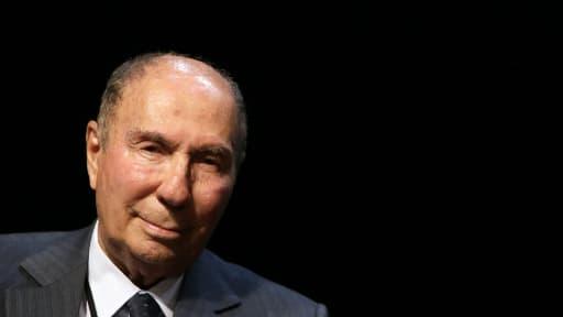 Serge Dassault, à Draveil, près de Paris, le 13 juin 2012.