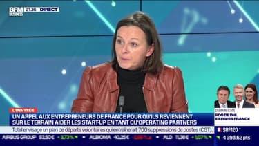 Isabelle Saladin lance un appel aux entrepreneurs de France pour qu'ils reviennent aider les PME - 24/11