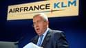 """Pierre-Henri Gourgeon, le directeur général d'Air France-KLM. La compagnie aérienne franco-néerlandaise anticipe un retour à l'équilibre opérationnel en 2010-2011 après avoir publié des pertes record au terme d'un exercice qu'elle qualifie elle-même d'""""an"""