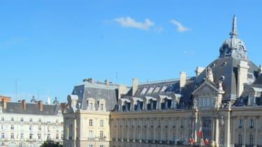 La place de la République à Rennes.