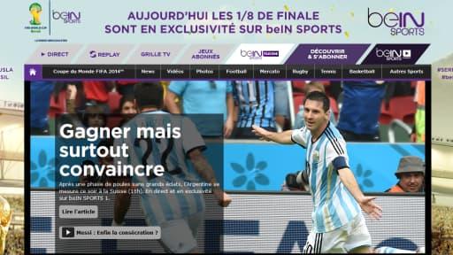 beIN Sports aurait gagné 850.000 nouveaux abonnés depuis le début de la Coupe du Monde au Brésil.