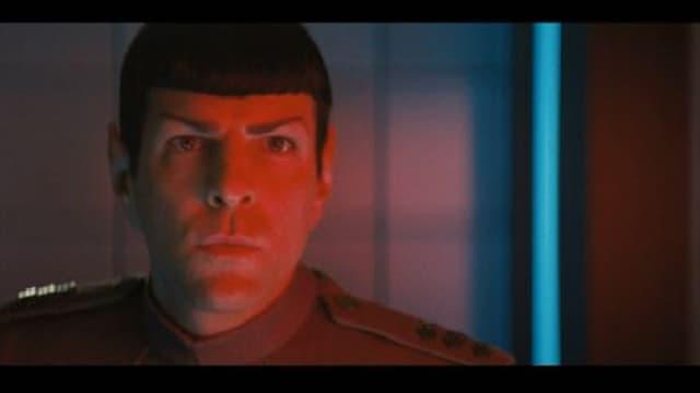 Zachary Quinto intérprète Monsieur Spock dans Star Trek into Darkness