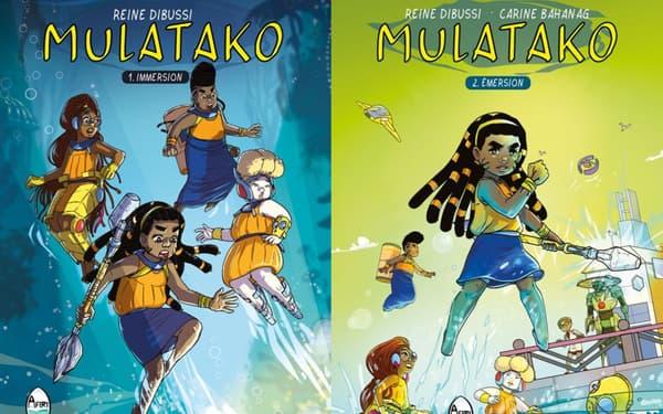 "La BD ""Mulatako"" de Reine Dubissi et Carine Bahanag"