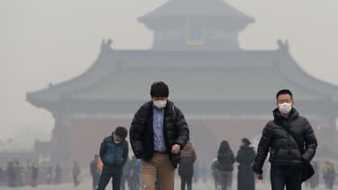 La pollution atmosphérique serait responsable de 4.000 décès par jour en Chine. (image d'illustration)