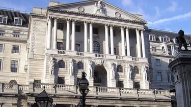 La Banque d'Angleterre, dans la Threadneedle Street à Londres.
