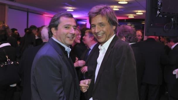 Pierre Fraidenraich (à gauche) devient directeur opérationnel de Libération.