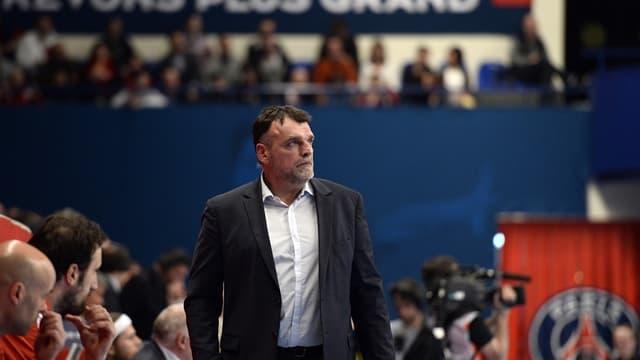 Philippe Gardent, entraineur du PSG Handball