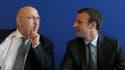 Michel Sapin et Emmanuel Macron cohabitent à Bercy