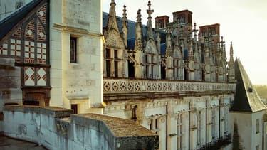 Le château d'Amboise, l'un des biens en jeu dans cette affaire.