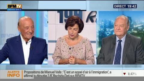 Jacques Séguéla face à Roland Cayrol: Manuel Valls appelle à l'unité de la gauche