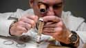 """Le secteur de l'horlogerie a notamment donné """"des impulsions positives"""" au commerce de bien"""