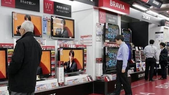 Sony a vu ses ventes d'écrans LCD fondre au Japon, aux Etats-Unis et en Europe.