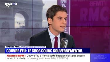 Le gros couac du gouvernement sur l'instauration d'un nouveau couvre-feu à Paris