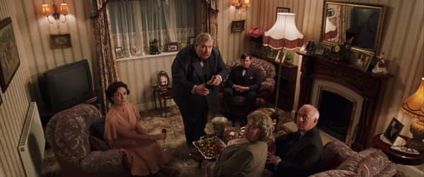 Le salon des Dursley
