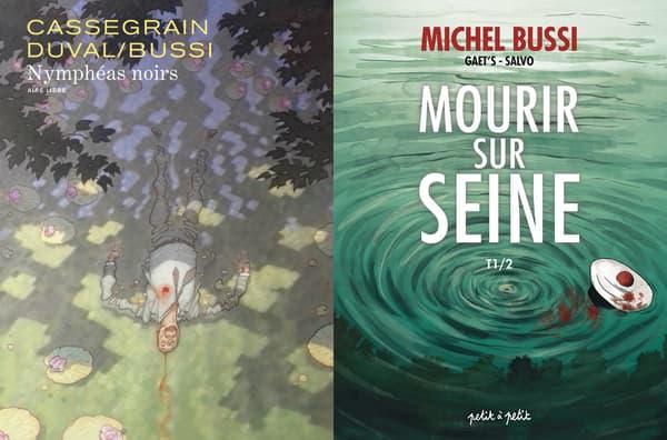 Les BD de Michel Bussi