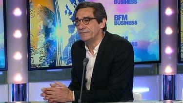 Serge Papin, le président de Système U, était l'invité de Stéphane Soumier dans Good Morning Business ce lundi 15 mars.