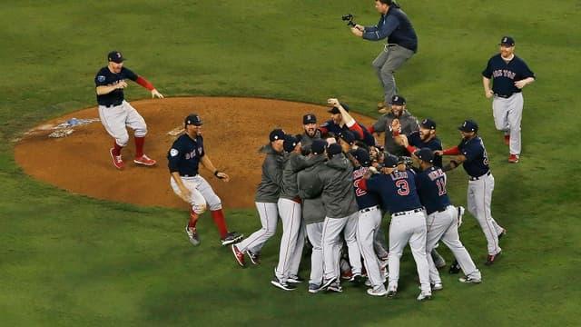 La joie des Boston Red Sox