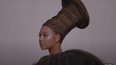 "Beyoncé dans ""Black is king""."