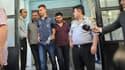 Un des policiers arrêtés, le 22 juillet 2014 à Istanbul