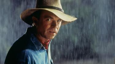 Sam Neill dans Jurassic Park