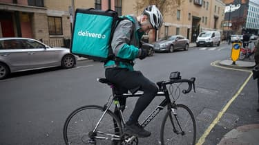 Un livreur Deliveroo (image d'illustration).