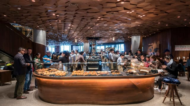 Starbucks compte s'imposer en Chine.