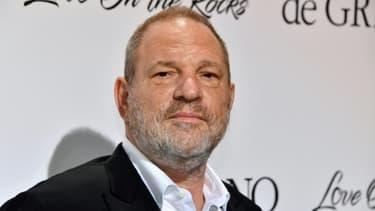 Photo du producteur américain Harvey Weinstein prise le 23 mai 2017 au festival de Cannes