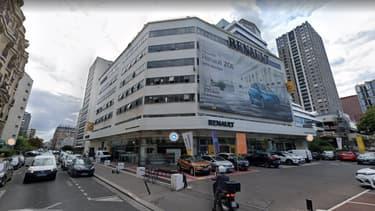 Situé au 29 quai de Grenelle, ce garage Renault va être transformé en logements