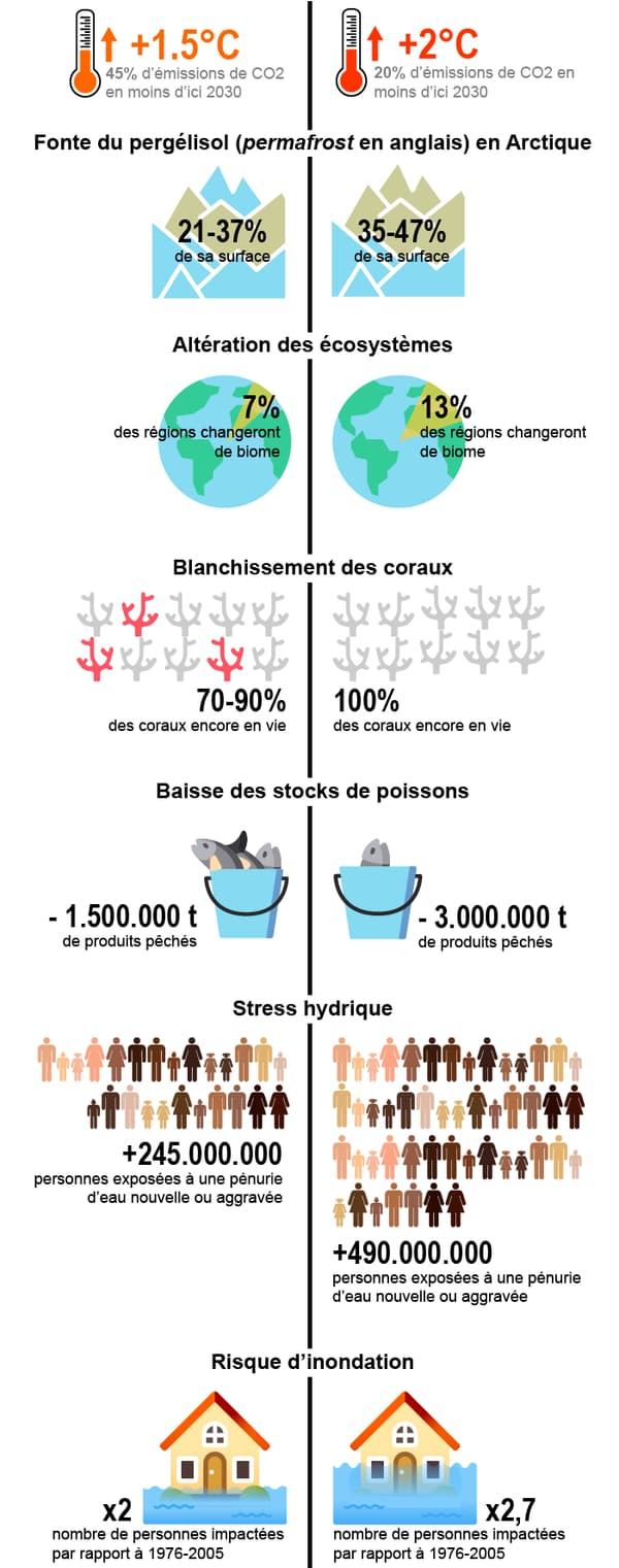 infographie rapport giec