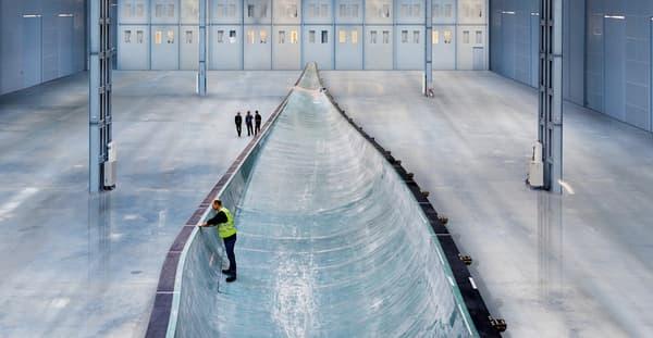 Siemens produit sa pale B75 (75 mètres) dans un seul bloc de matière supprimant les joints de colle.