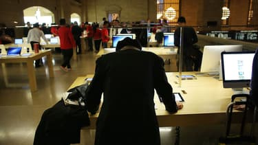 Selon la banque Morgan Stanley, Apple pourrait en vendre entre 500 millions et un milliard d'exemplaires d'Apple Watch en 2015.