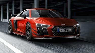 """Voici """"l'Audi R8 V10 Plus Audi Sport Performance Parts R8 Edition"""""""